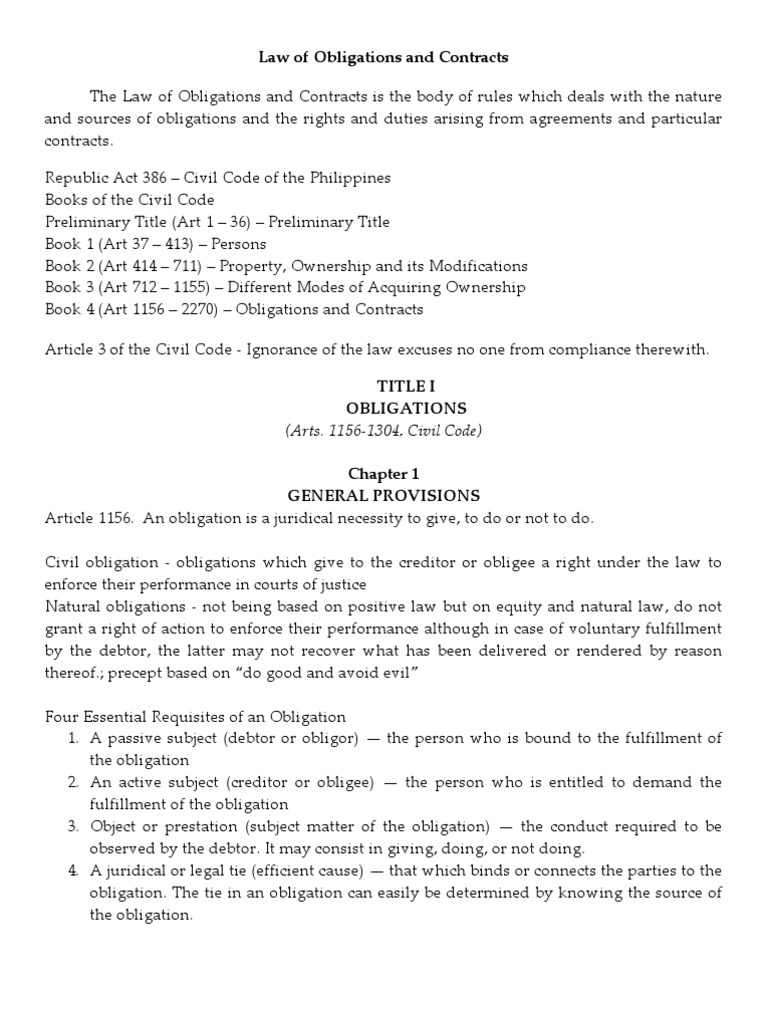 The book 4 of civil philippines code