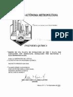 Tesis DISEÃ'O DE PLANTA DE EXTRACION DE ORO Y PLATA  LIXIVIACION CON TIOSULFATO
