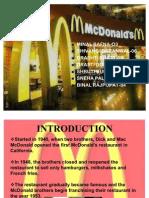 mcdonalds public relations activites