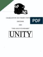 Charleston Southern Defense
