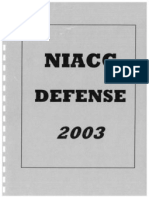 2003 N. Iowa Comm. College 33 Defense