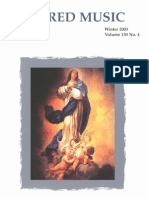 Sacred Music, 130.4, Winter 2003; The Journal of the Church Music Association of America