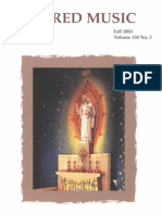 Sacred Music, 130.3, Fall 2003; The Journal of the Church Music Association of America