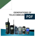 Generations of Telecommunication
