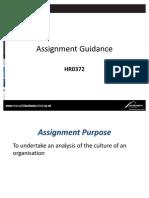 Assignment Guidance for HR0372 CV [1]