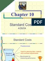 GarCh10 -- Standard Costs