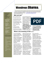 Wondrous Dharma Issue 23 - February 2012