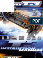 XRAY T3 Instruction Manual