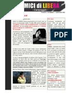 Notiziario Amici Di Libera 7 Gennaio 2012