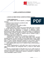 Carta Auditului Intern