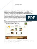 BRU Café Design Brief