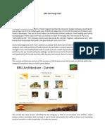 BRU Café Design Brief