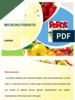Micro Nutrients