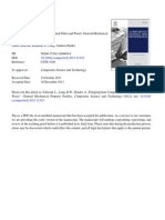 Polyproylene Composites With Natural Fibres and Wood - General Mechnical Property Profiles