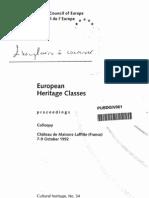 European Heritage Classes