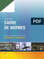 Cadre de Normes FR_Version Juin 2005
