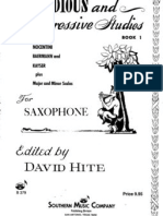 David Hite - Melodious & Progresive Studies for Saxophone