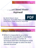 Product Based Models