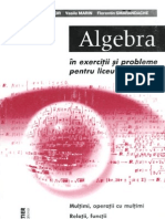 Algebra in exercitii si probleme