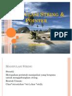 Manipulasi String dan Pointer