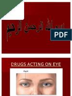 Drugs Acting on Eye