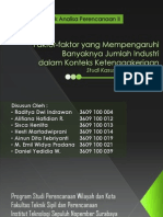 Tugas Kelompok Teknik Analisa Perencanaan II