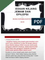 Perbedaan Kejang Demam Dan Epilepsi