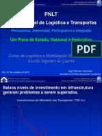 PNLT - Plano Nacional de Logística e Transportes (apresentação) (2010)