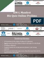 IIML Online Prelims 2012