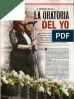 La Oratoria Del Yo-Sarlo