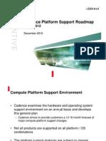 Cadence Platform Support Plan