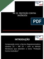 Apresentação Proteção contra Incêndios
