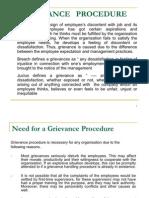 Grievance Procedure