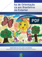Cartilha de Orientacao Juridica Aos Brasileiros No