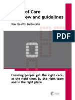 070626 WA Health Model of Care-Overview and Guidelines