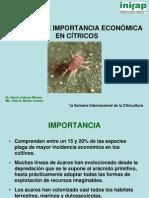 ACAROS DE IMPORTANCIA ECONÓMICA DE LOS CITRICOS