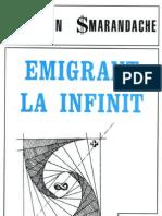 Emigrant la infinit, de Florentin Smarandache