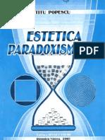 Estetica Paradoxismului, de Titu Popescu