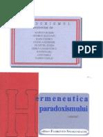 Hermeneutica paradoxismului, editor Florentin Smarandache