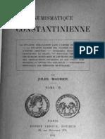 Numismatique constantinienne. T. II