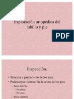 5-4 Exploracion Ortopedica Del Tobillo y Pie