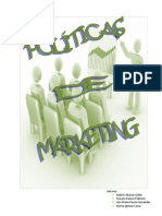 Politicas de Marketing. Analisis Dafo