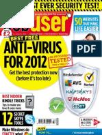 Webuser Magazine Best Free Anti-Virus - 16 January 2012