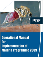 Malaria Operational Manual 2009