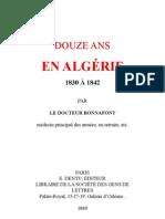 12 Ans en Algerie
