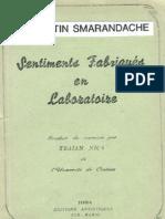 Sentiments fabriques en laboratoire, par Florentin Smarandache