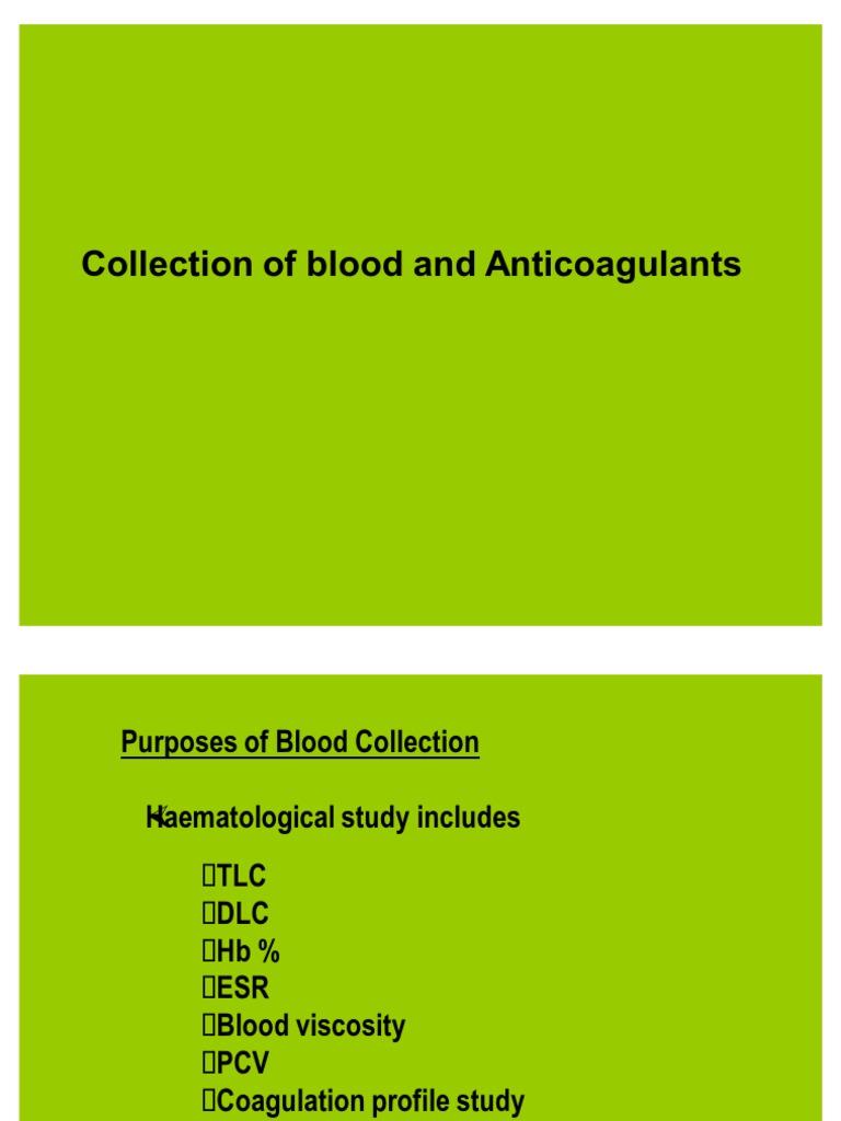 double oxalate anticoagulant