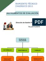 5 instrumentos de evaluación tipos