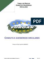 Condutas e Acessorios Circulares-Euroar