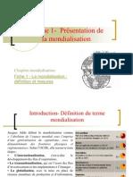 thème 1 - définition et mesures de la mondialisation